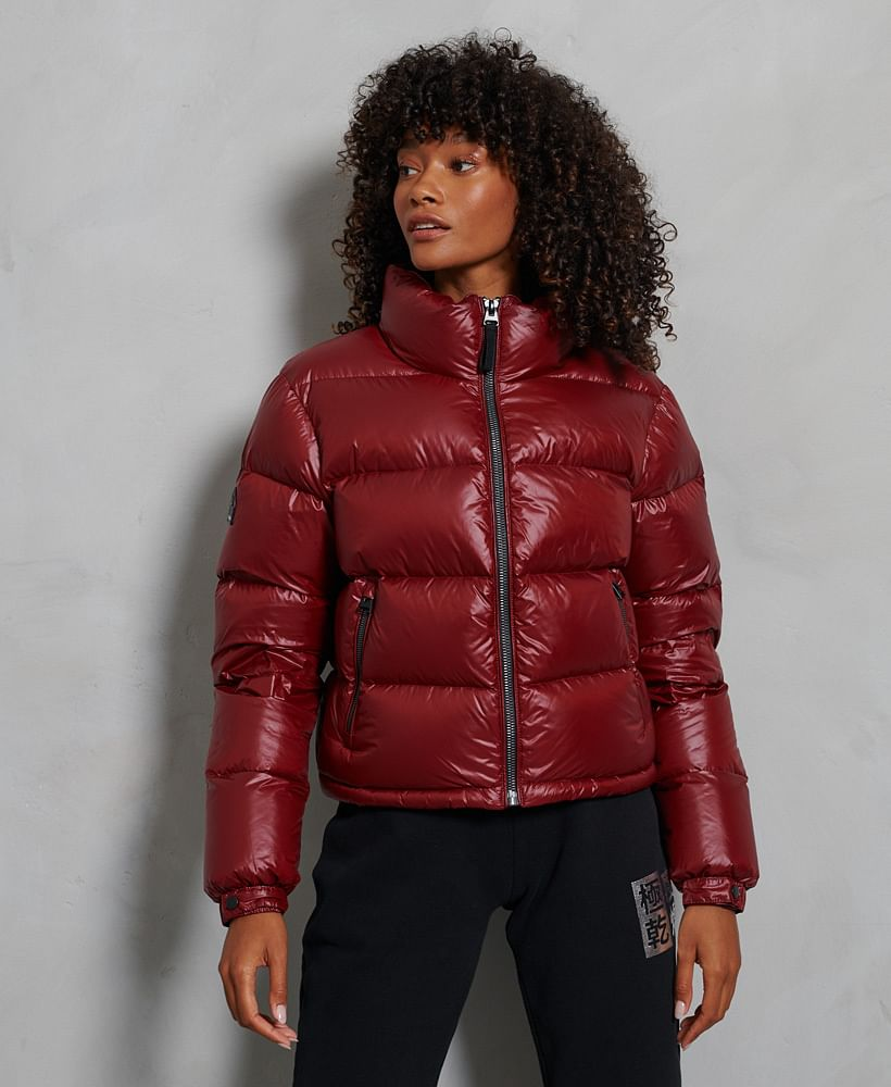 LUXE ALPINE DOWN PADDED JACKET