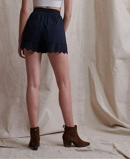 LACE BRODERIE SHORT