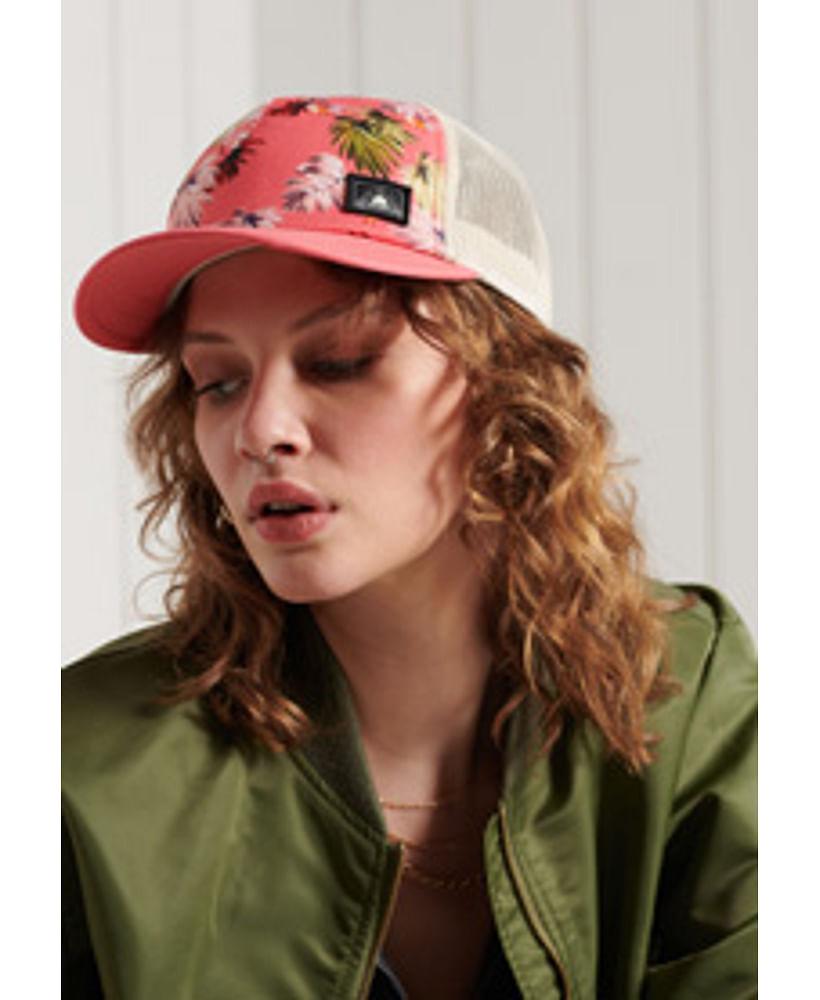 CALI PRINT TRUCKER CAP