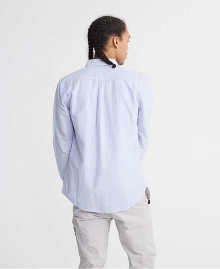 EDIT LINEN BUTTON DOWN L/S SHIRT