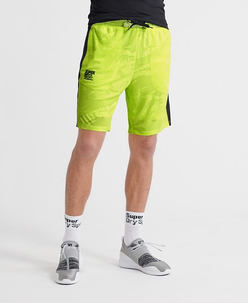 TRAINING BREATHABLE CAMO SHORTS