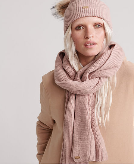 HERITAGE RIBBED SCARF