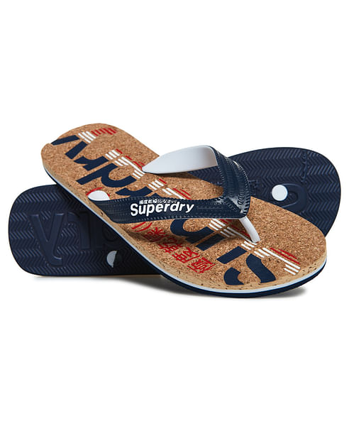 CORK COLOUR POP FLIP FLOPS