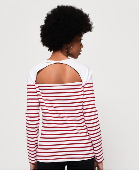 CALLIE TWIST BACK TOP