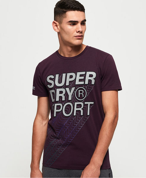 CORE GRADIENT GRAPHIC SHORT SLEEVES TEE