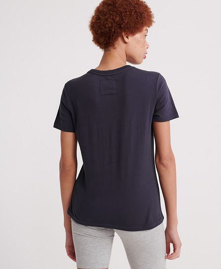 V LOGO EMB OUTLINE ENTRY TEE