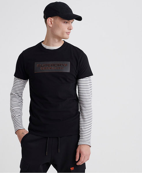 TONAL TROPHY BLOCK TEE