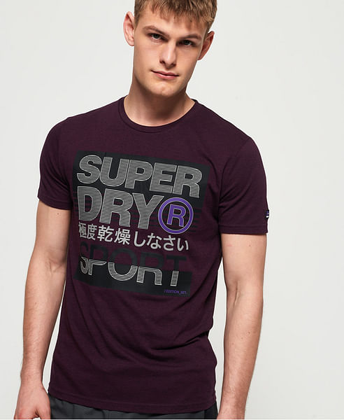 CORE LOGO TEXT SHORT SLEEVES TEE