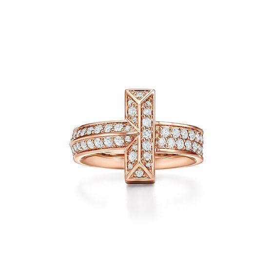 T1 Wide Diamond Ring