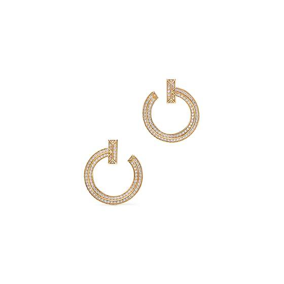 T1 Open Hoop Earrings