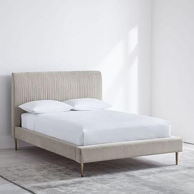 Roar & Rabbit™ Pleated Upholstered Bed