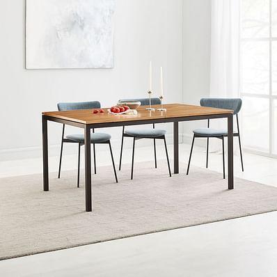 Frame Dining Table, Caramel