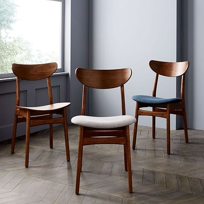Classic Cafe Upholstered Dining Chair