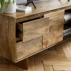 "Anton Solid Wood Media Console (68"")"