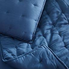TENCEL™ Crescent Stitch Quilt & Shams