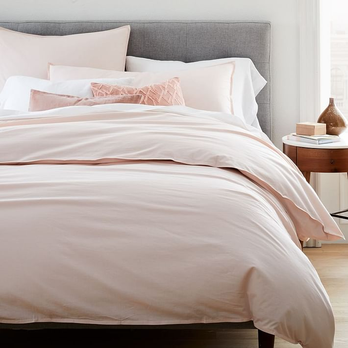 Organic Washed Cotton Duvet Cover & Shams