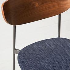 Mid-Century Modern Petal Chair