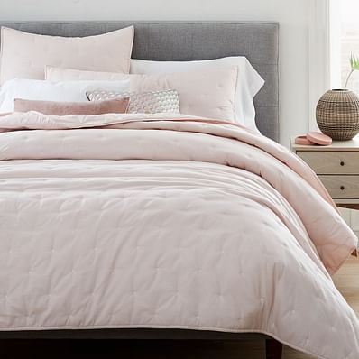 Organic Washed Cotton Quilt & Shams
