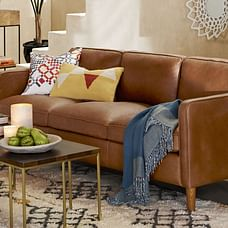 Hamilton Leather Sofa