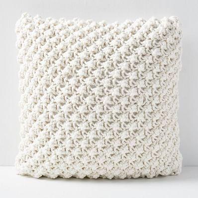 Bobble Knit Pillow Covers