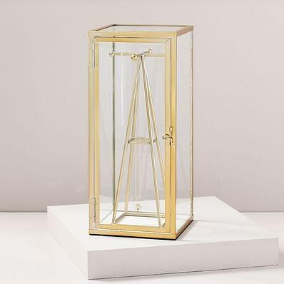 Terrace Shadow Box - Brass (Jewelry Stand)