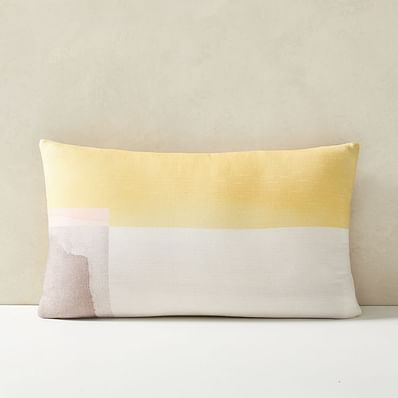 Watercolor Horizon Pillow Cover
