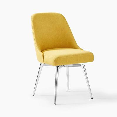 Mid-Century Swivel Office Chair