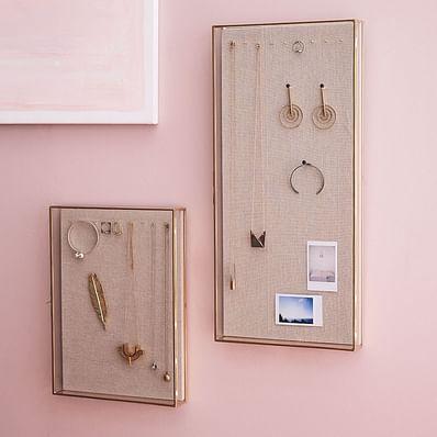 Glass Shadow Box Wall Display Cases