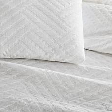 Parquet Texture Duvet Cover & Shams