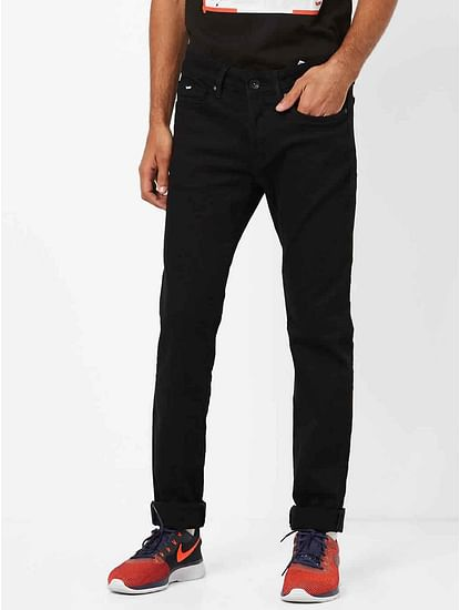 Men's Anders Slim Fit Black Jeans