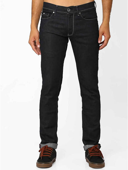 Men's Anders K Slim Fit Dark Blue Jeans