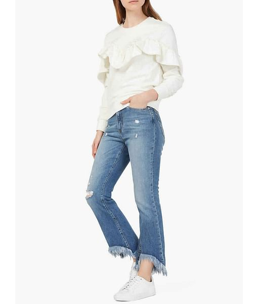 Women's Bryony frayed hems jeans