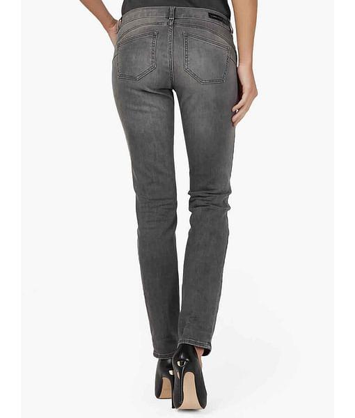 Women's slim fit medium wash Britty up jeans