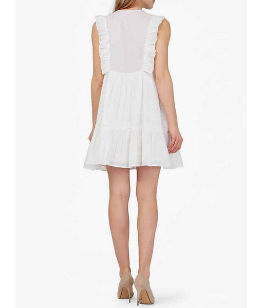 Women's regular fit round neck sleeveless Mecye dress