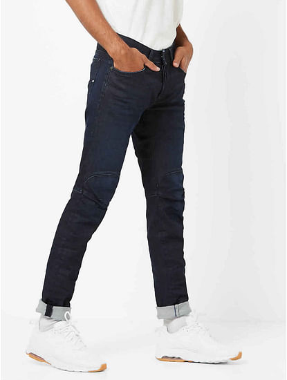Men's Anders Ergo Slim Fit Dark Blue Jeans
