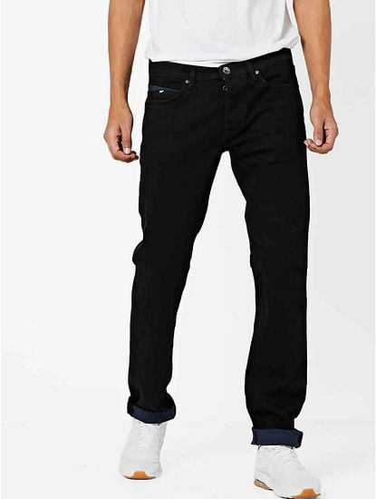 Men's Mitch Straight Fit Dark Blue Jeans