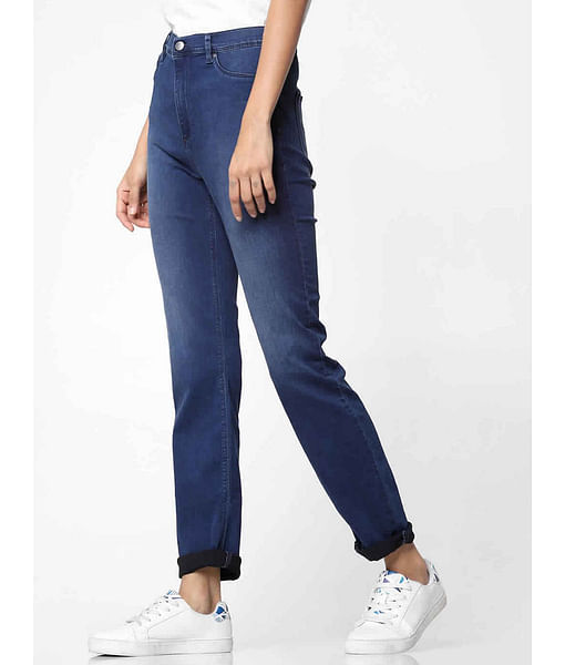 Women's mid wash skinny fit Sumatra X jeans
