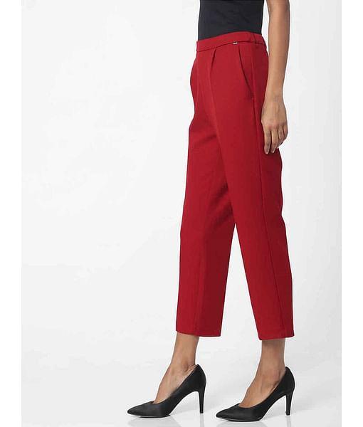 Women's regular fit mid rise Jimmye trousers
