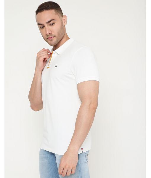 Men's Ralph Plack Ec In Slim Fit Solid Polo