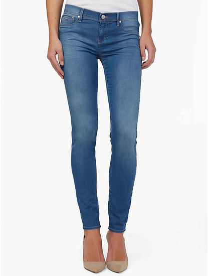 Women's Sumatra skinny fit mid wash jeans