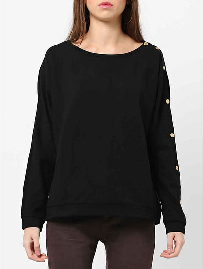 Women's regular fit round neck long sleeves Mahil sweatshirt