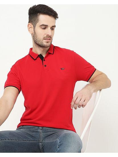 Men's Ralph Basic Red Polo
