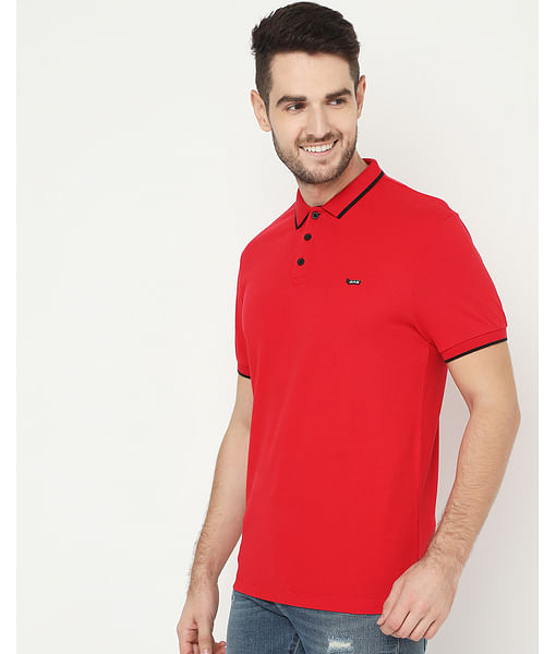Men's Ralph Basic Red Polo