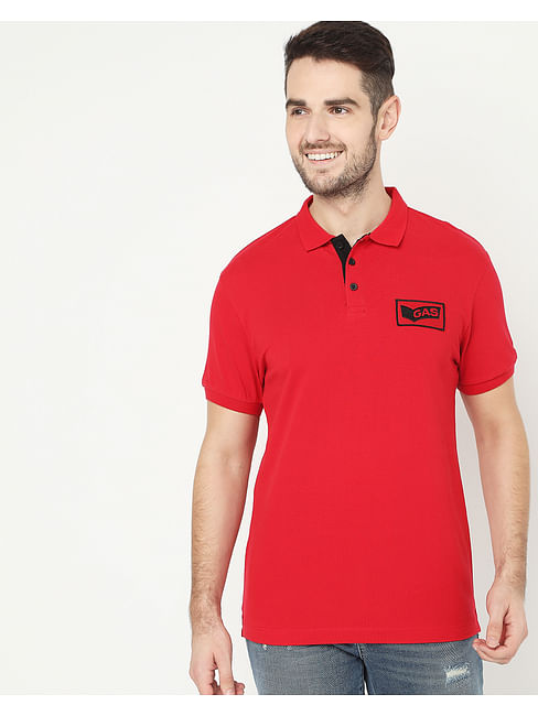 Men's Ralph Badge Red Polo
