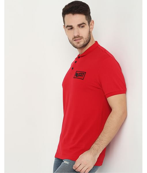 Men's Ralph Badge Red Polo