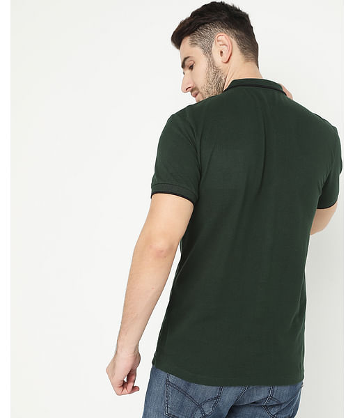 Men's Ralph Basic Green Polo