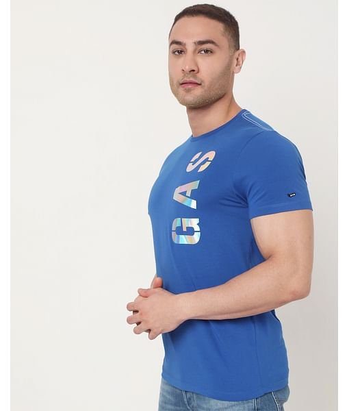 Men's Scuba Beauty Ec In Slim Fit Printed Tshirt