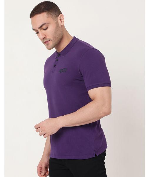 Men's Ralph Emb Ec In Slim Fit Solid Polo