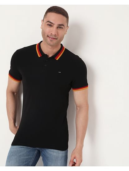 Men's Ralph Con Ec In Slim Fit Solid Polo