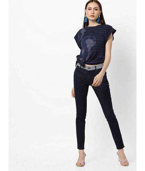 Women's mid rise Susan PK jeans